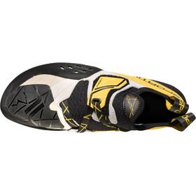 La Sportiva Solution Kiipeilykengät Miehet, white/yellow